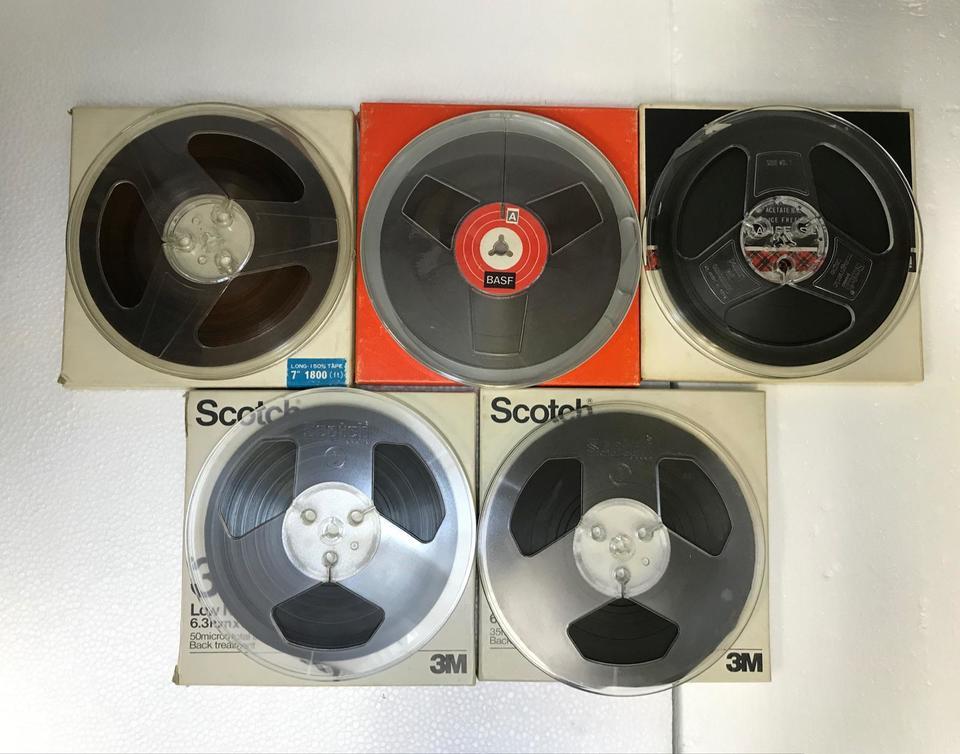 7号生テープ(5本セット)  画像