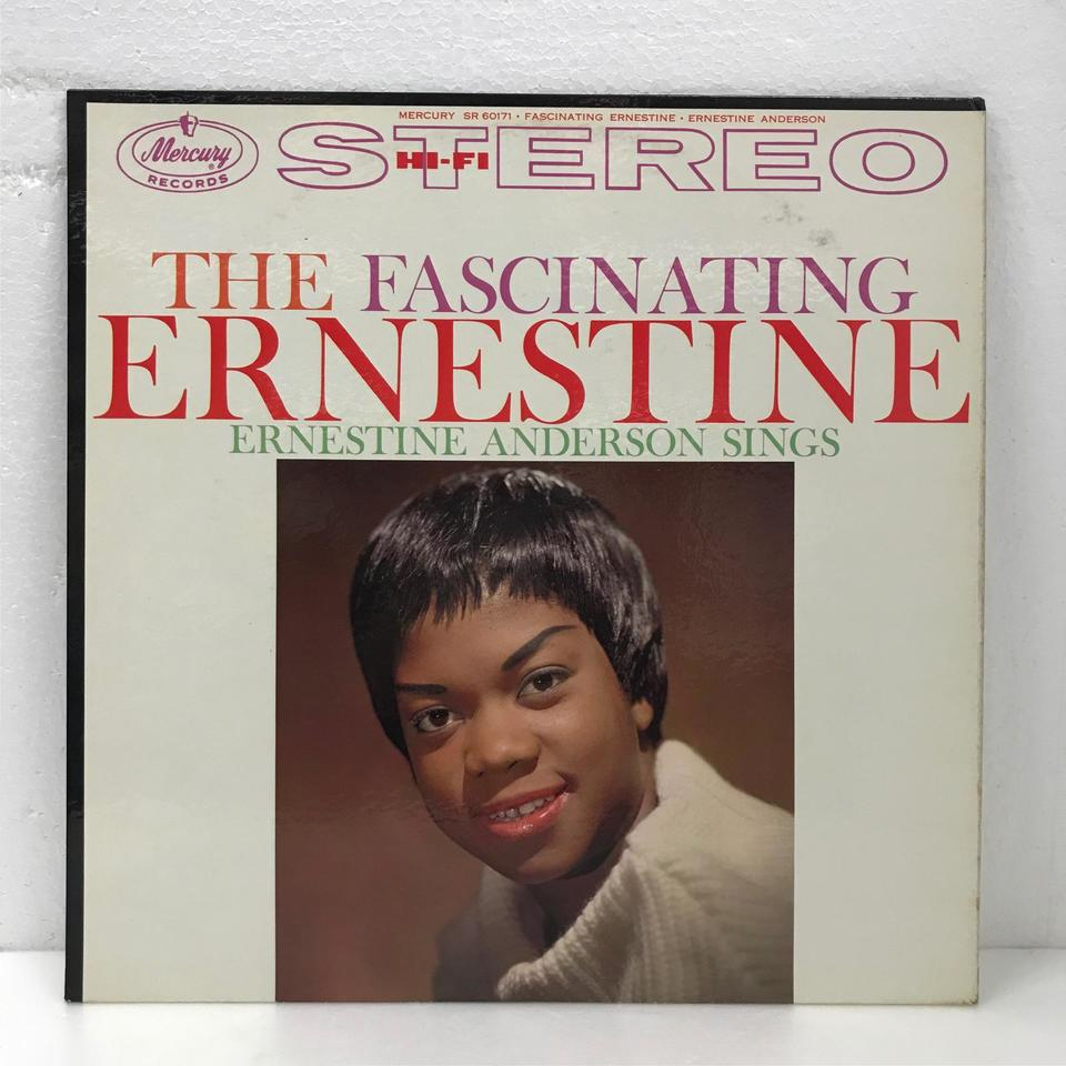 THE FASCINATING ERNESTINE/ERNESTINE ANDERSON ERNESTINE ANDERSON 画像