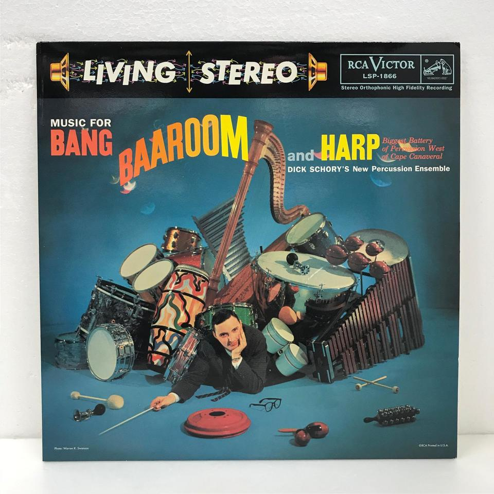 MUSIC FOR BANG. BAAROOM AND HARP/DICK SCHORY  画像