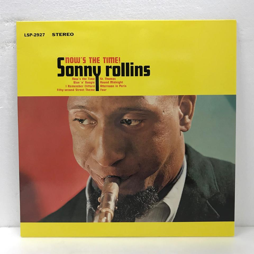 NOW'S THE TIME/SONNY ROLLINS SONNY ROLLINS 画像