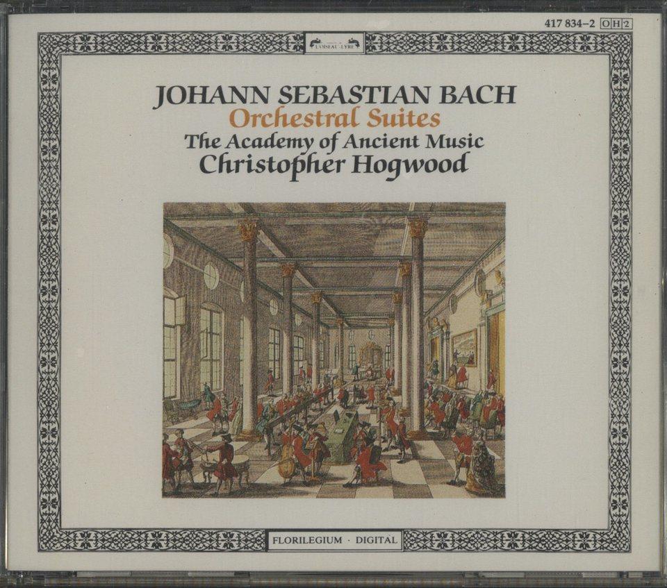 J.S.バッハ:管弦楽組曲 J.S.バッハ 画像