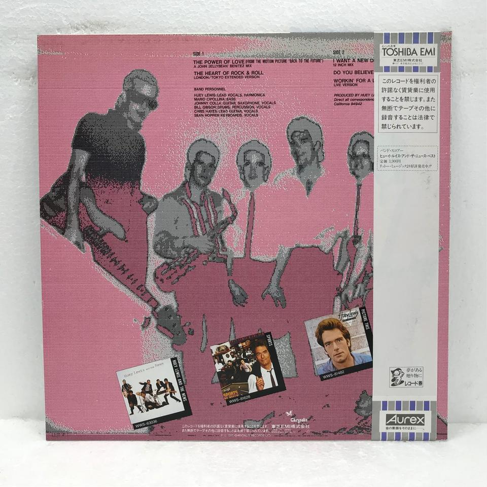 SELECTIONS/HUEY LEWIS AND THE NEWS HUEY LEWIS AND THE NEWS 画像