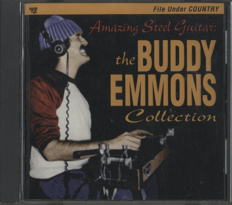 AMAZING STEEL GUITAR : THE BUDDY EMMONS COLLECTION BUDDY EMMONS 画像