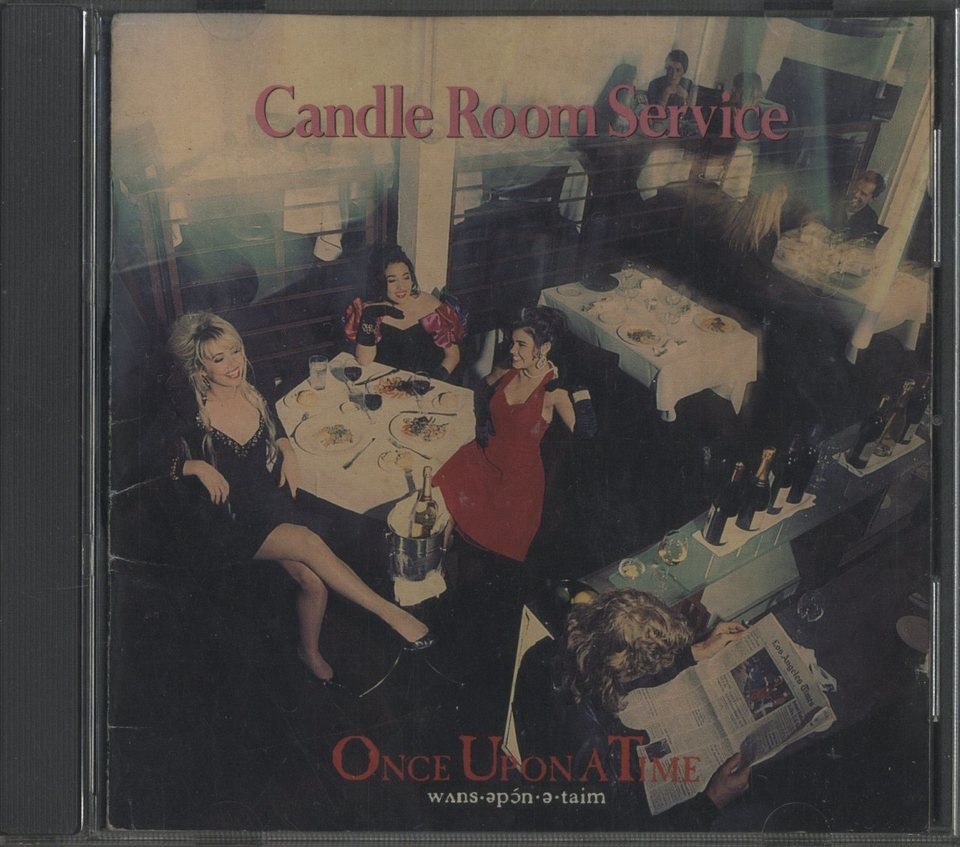 CANDLE ROOM SERVICE/ONCE UPON A TIME ONCE UPON A TIME 画像