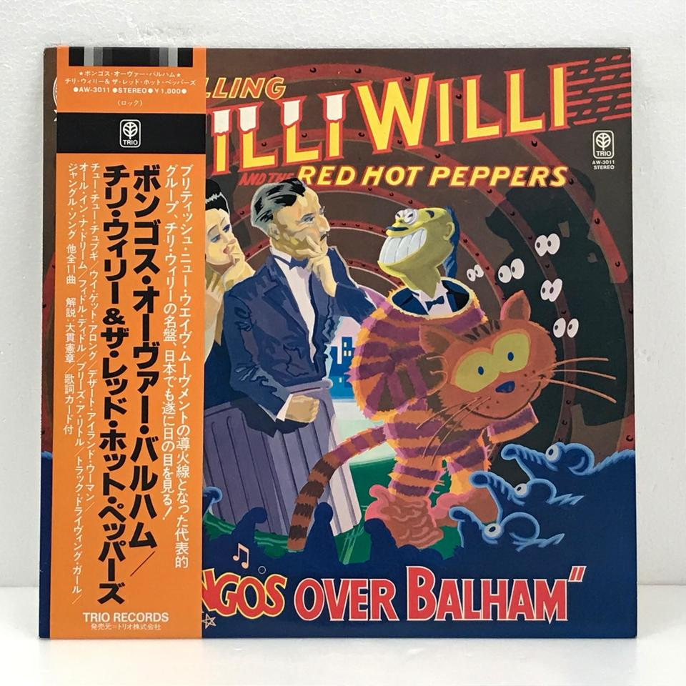 BONGOS OVER BALHAM/CHILLI WILLI AND THE RED HOT PEPPERS CHILLI WILLI AND THE RED HOT PEPPERS 画像