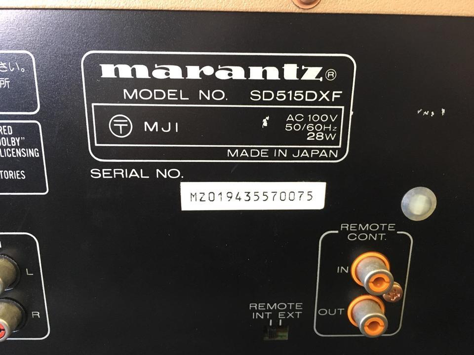 SD515DX marantz 画像