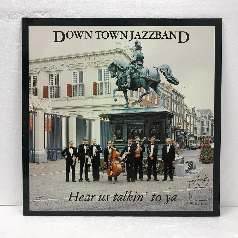 HEAR US TALKIN' TO YA/DOWN TOWN JAZZBAND DOWN TOWN JAZZBAND 画像
