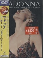【未開封】GIRLIE SHOW:LIVE DOWN UNDER/MADONNA