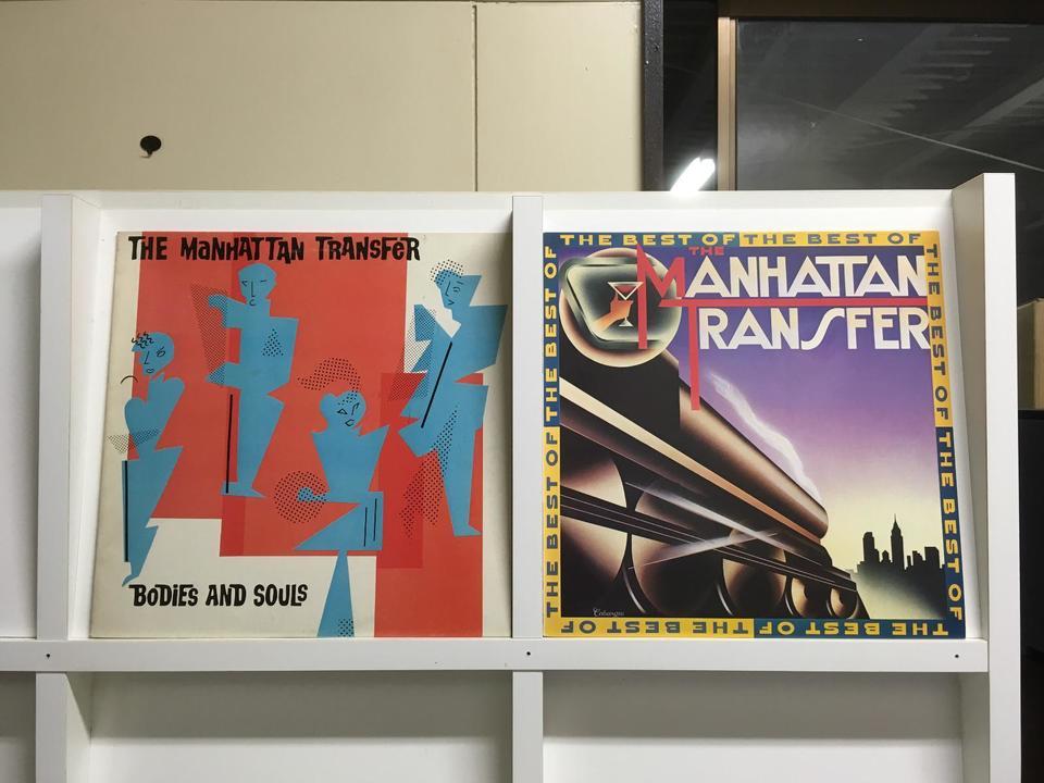マンハッタン・トランスファー5枚セット マンハッタン・トランスファー 画像