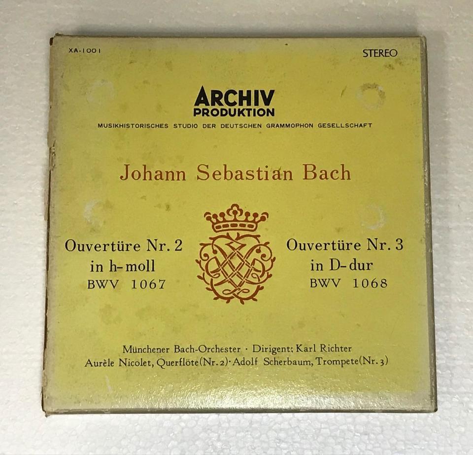 J.S.バッハ:管弦楽組曲第2、3番  画像
