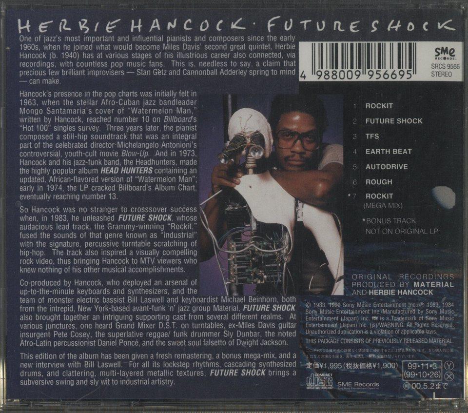 FUTURE SHOCK/HERBIE HANCOCK HERBIE HANCOCK 画像