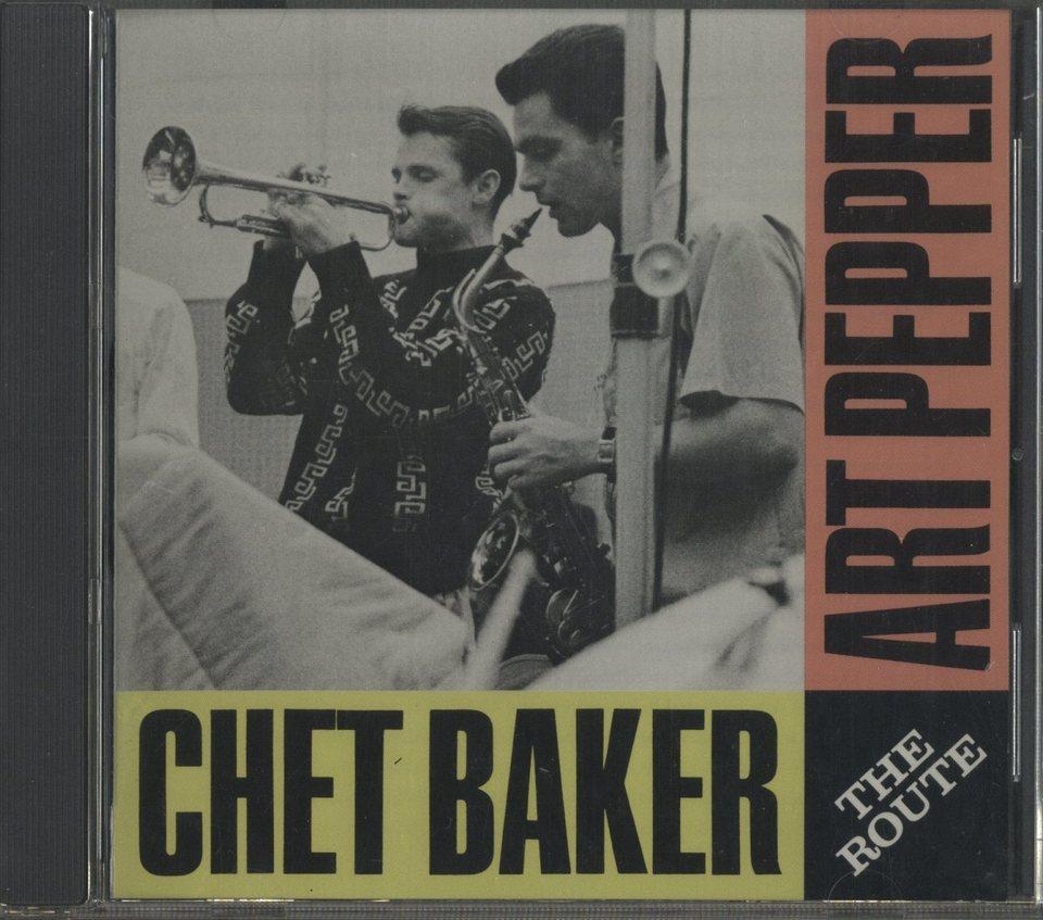 THE ROUTE/CHET BAKER & ART PEPPER CHET BAKER/ART PEPPER 画像