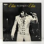 ELVIS THAT'S THE WAY IS/ELVIS PRESLEY