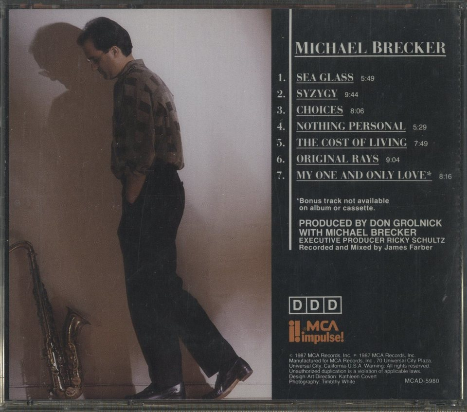 MICHAEL BRECKER MICHAEL BRECKER 画像