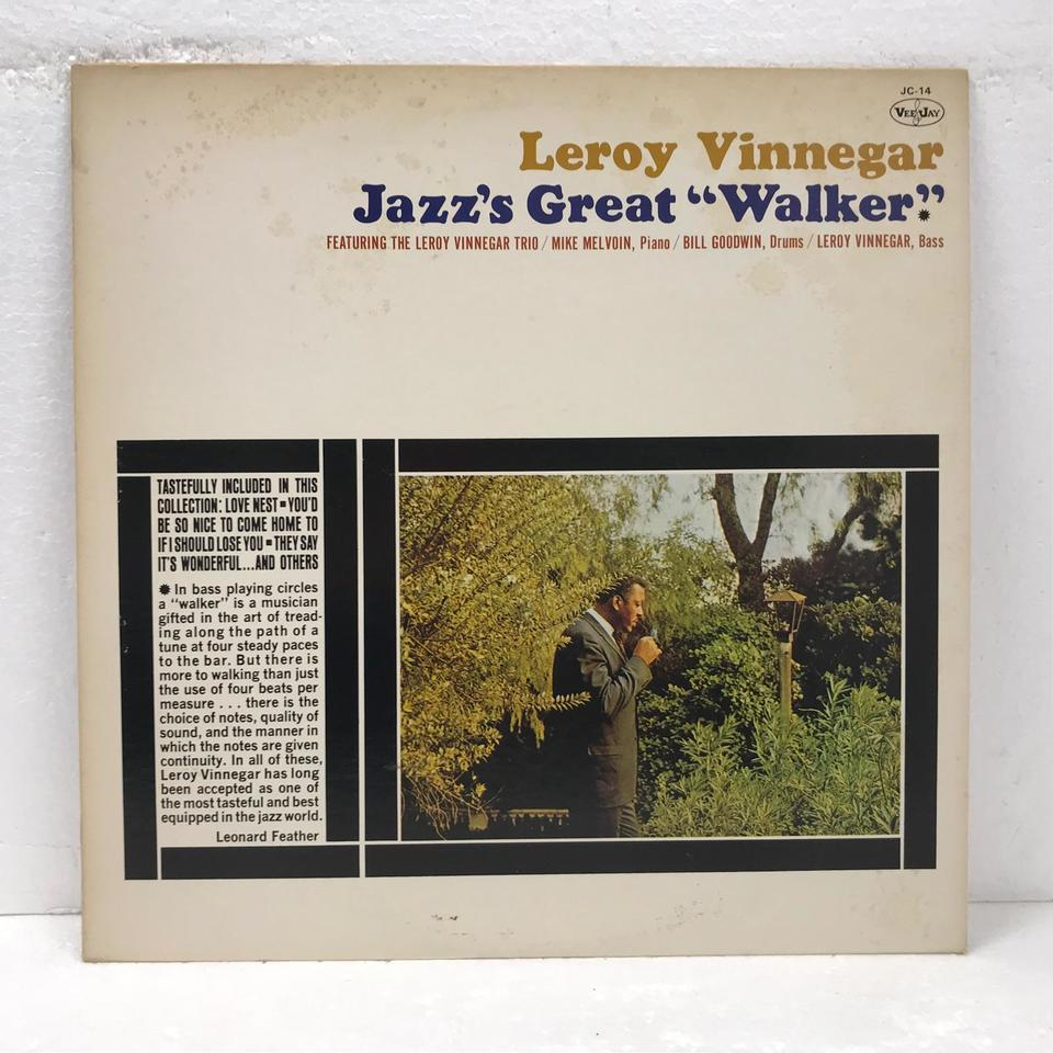 JAZZ'S GREAT WALKER/LEROY VINNEGAR LEROY VINNEGAR 画像