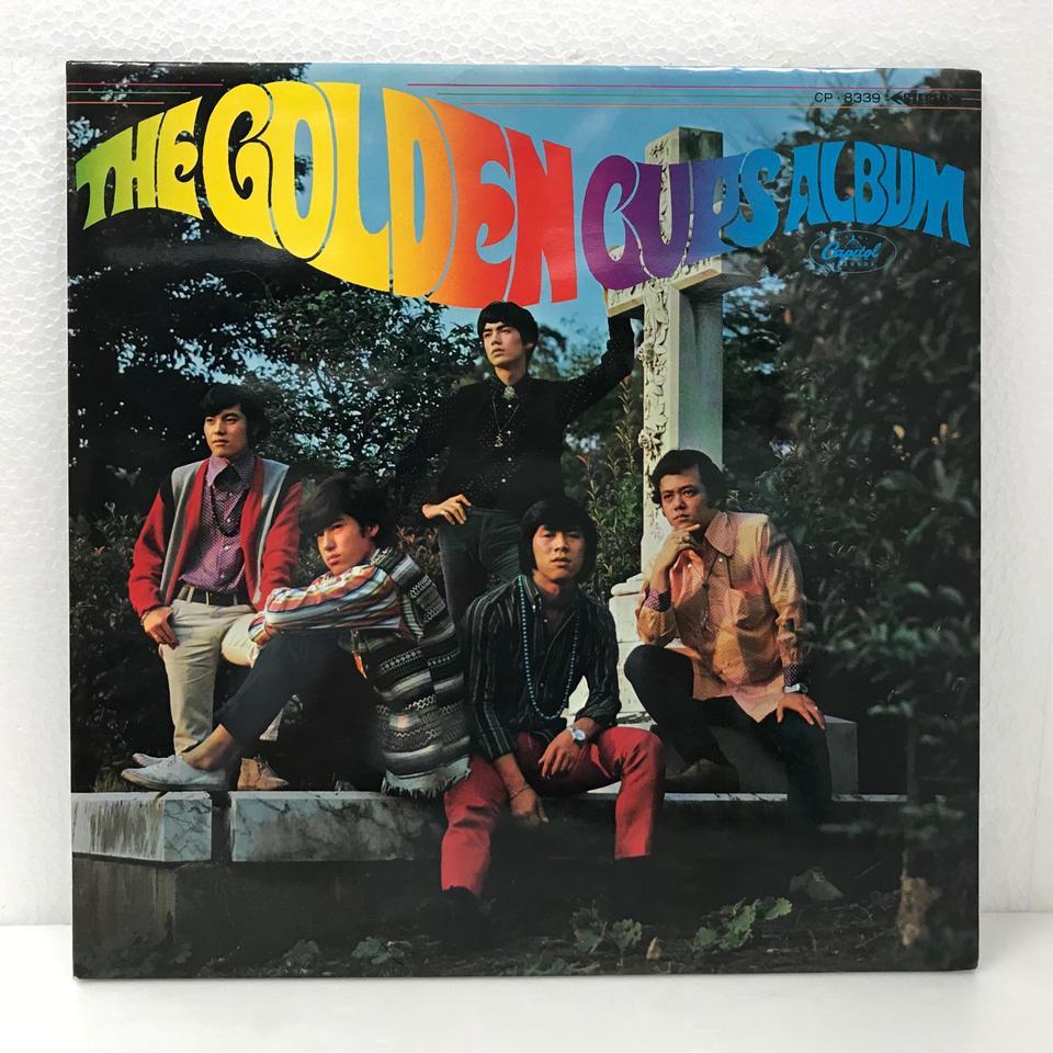 THE GOLDEN CUPS ALBUM ザ・ゴールデン・カップス 画像