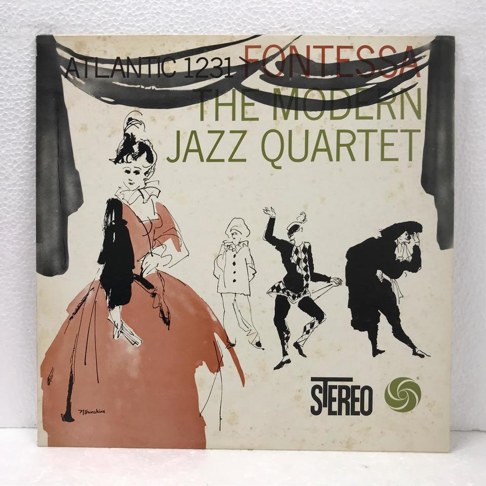 FONTESSA/MJQ MODERN JAZZ QUARTET 画像