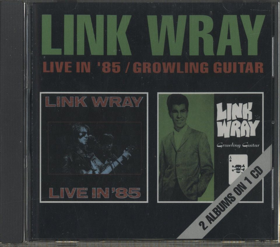 LIVE IN '85 ・ GROWLING GUITAR/LINK WRAY LINK WRAY 画像