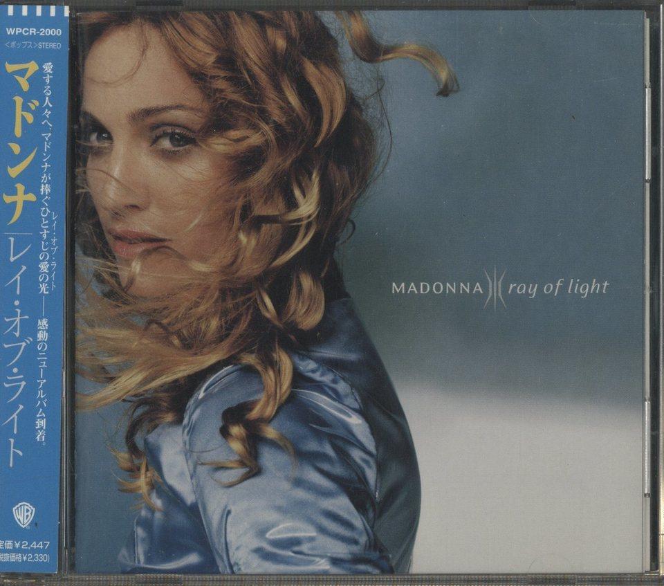 RAY OF LIGHT/MADONNA MADONNA 画像