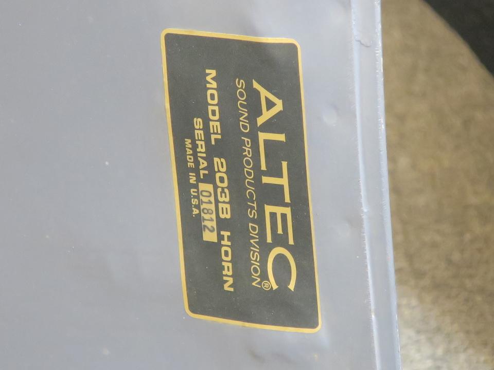 203B ALTEC 画像