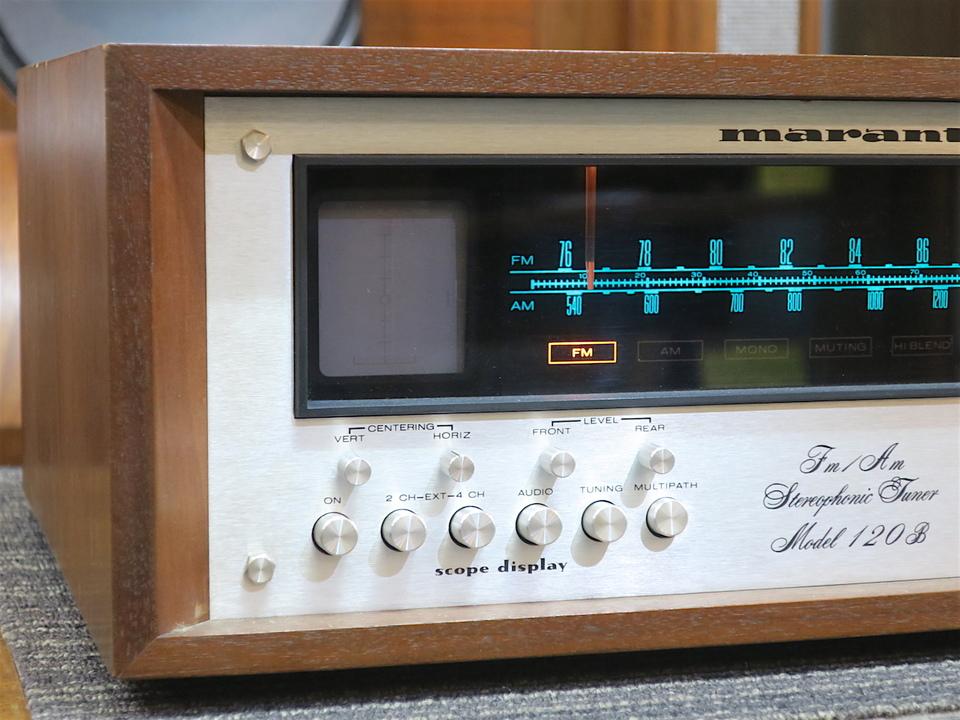 model 120B marantz 画像