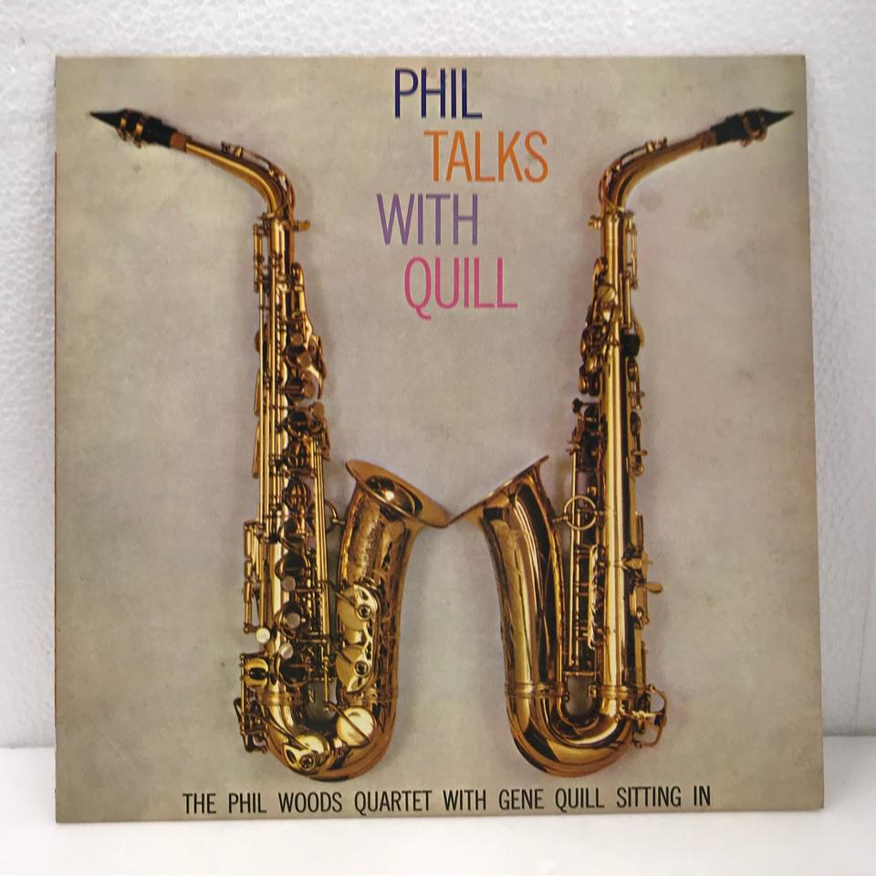PHIL TALKS WITH QUILL/PHIL WOODS PHIL WOODS 画像