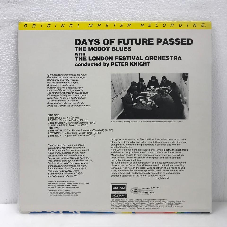 DAYS OF FUTURE PASSED/THE MOODY BLUES THE MOODY BLUES 画像