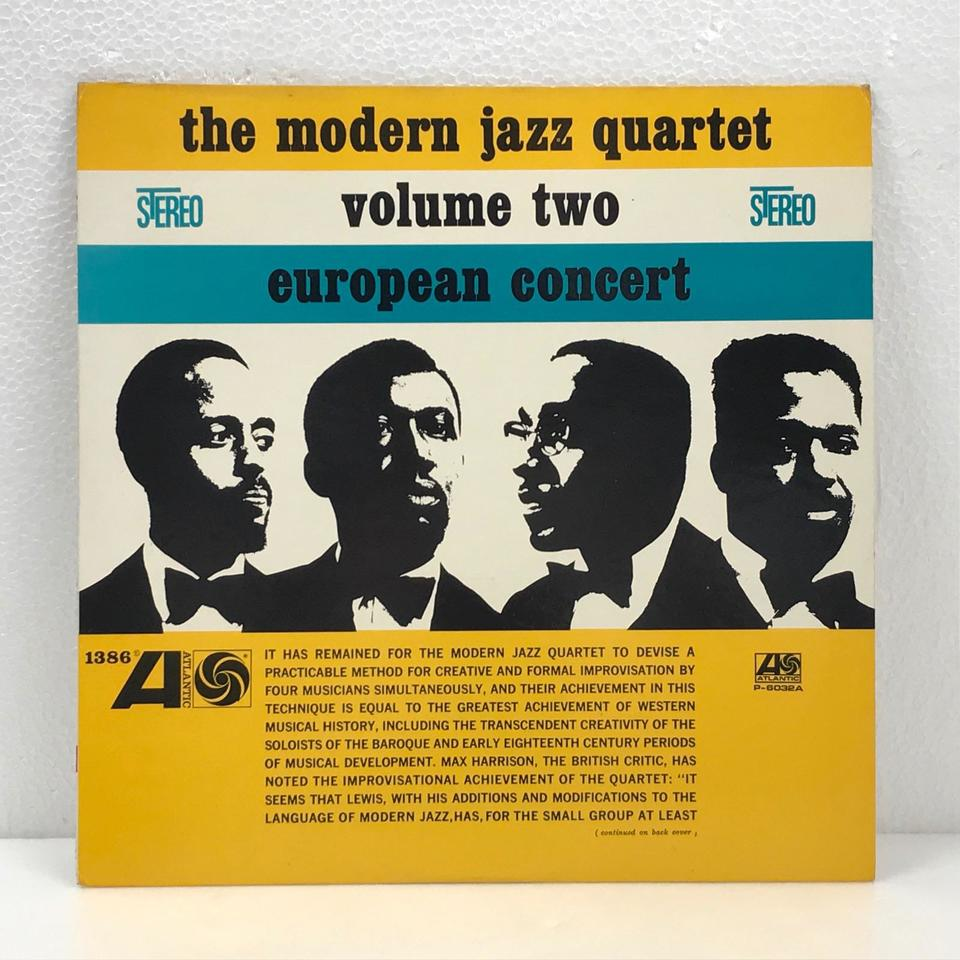 EUROPEAN CONCERT VOL.2/MJQ THE MODERN JAZZ QUARTET 画像