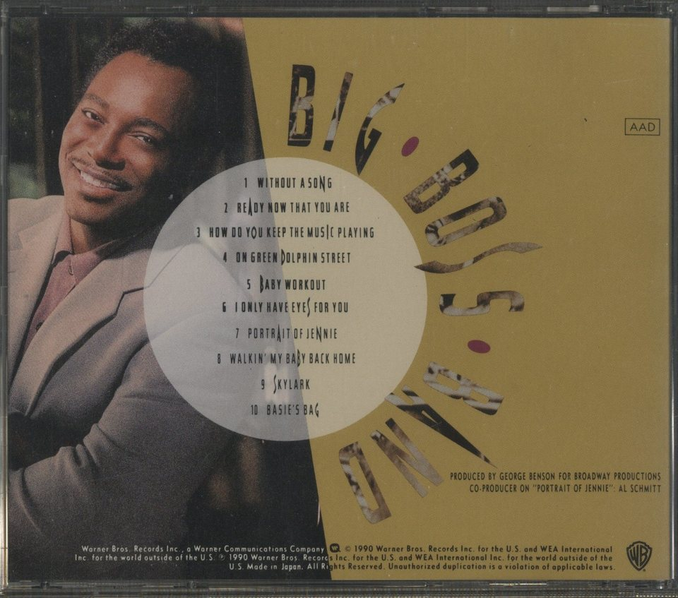 BIG BOSS BAND FEATURING THE COUNT BASIE ORCHESTRA/GEORGE BENSON GEORGE BENSON 画像
