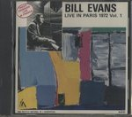 LIVE IN PARIS, 1972 VOL.1/BILL EVANS
