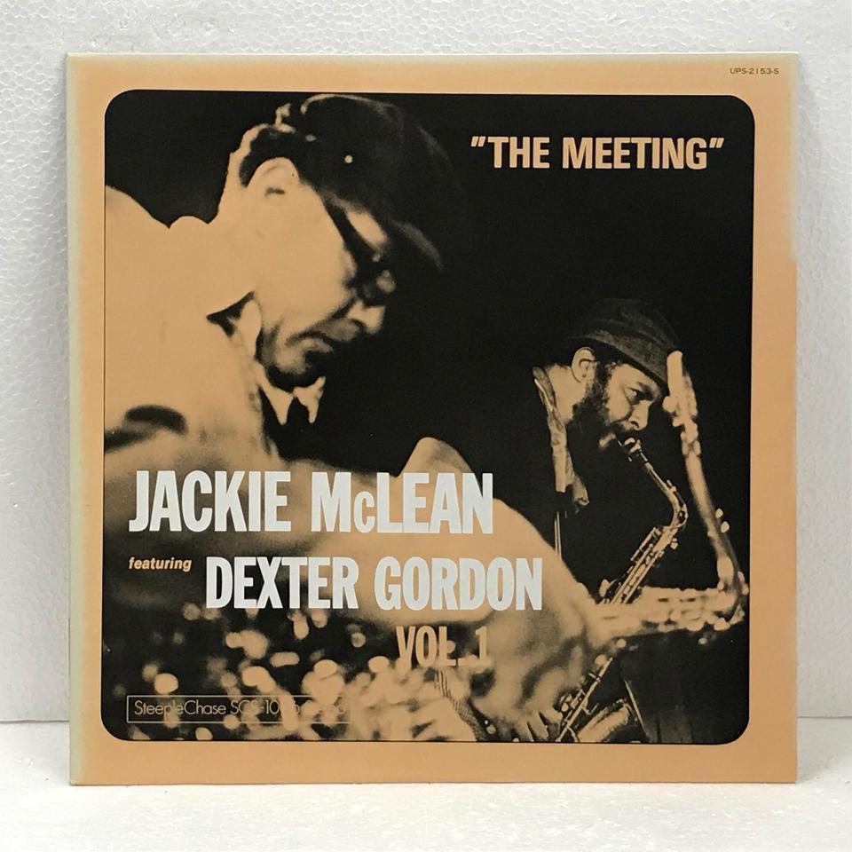 THE MEETING/JACKIE McLEAN&DEXTER GORDON JACKIE McLEAN 画像