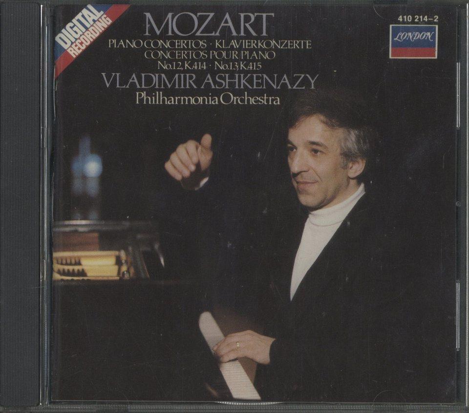 モーツァルト:ピアノ協奏曲第12番、第13番 モーツァルト 画像