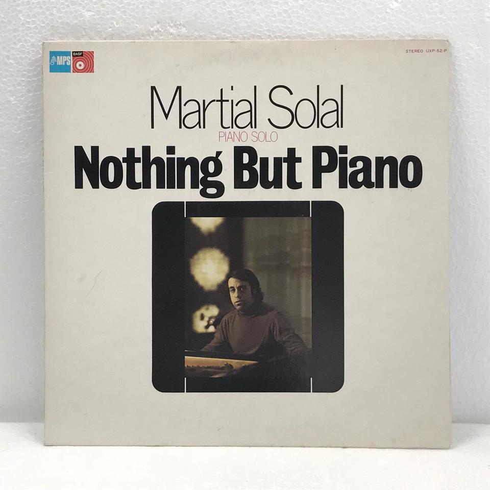 NOTHING BUT PIANO/MARTIAL SOLAL MARTIAL SOLAL 画像