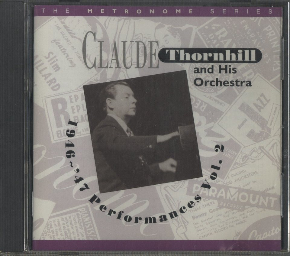 THE 1946~47 PERFORMANCES VOL. 2/CLAUDE THORNHILL CLAUDE THORNHILL 画像