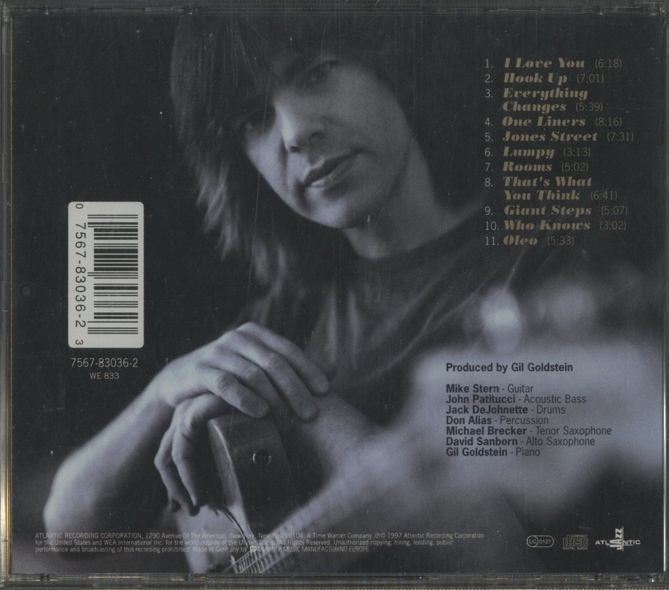 GIVE AND TAKE/MIKE STERN MIKE STERN 画像