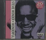 WONDERFUL -20 ORIGINAL HOT HITS-/STEVIE WONDER