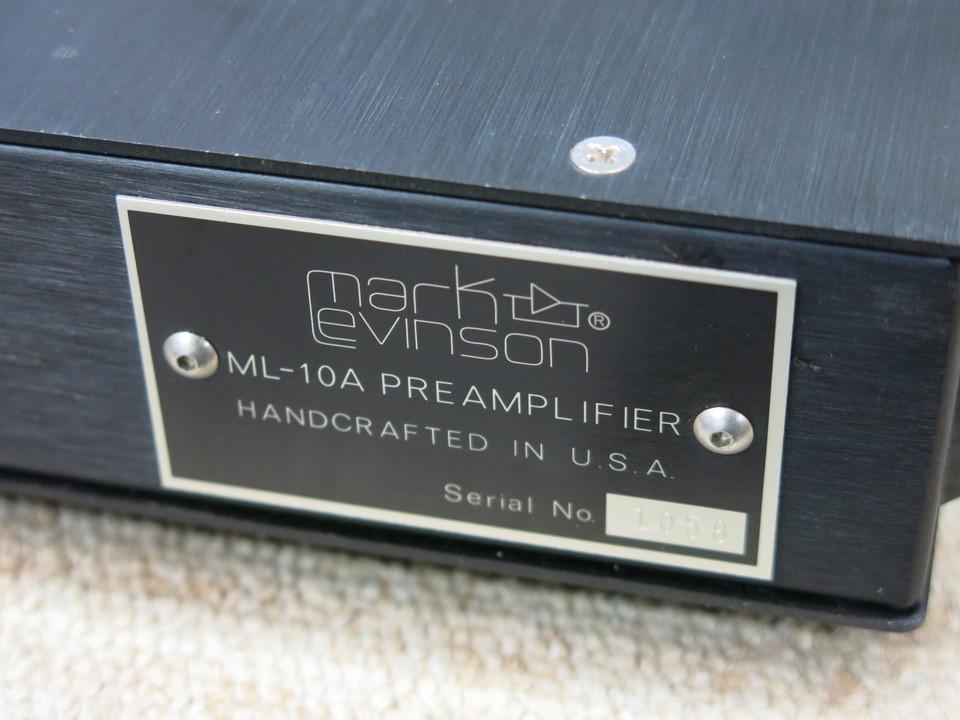 ML-10A Mark Levinson 画像