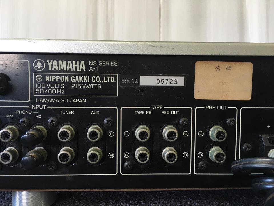 A-1 YAMAHA 画像