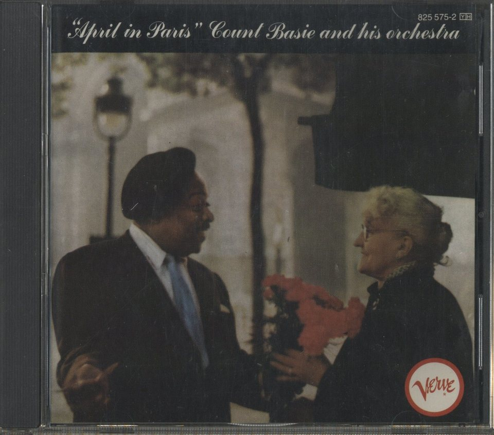 APRIL IN PARIS/COUNT BASIE COUNT BASIE 画像