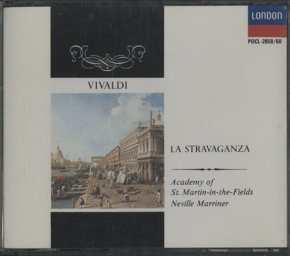 ヴィヴァルディ:ラ・ストラヴァガンツァ ヴィヴァルディ 画像
