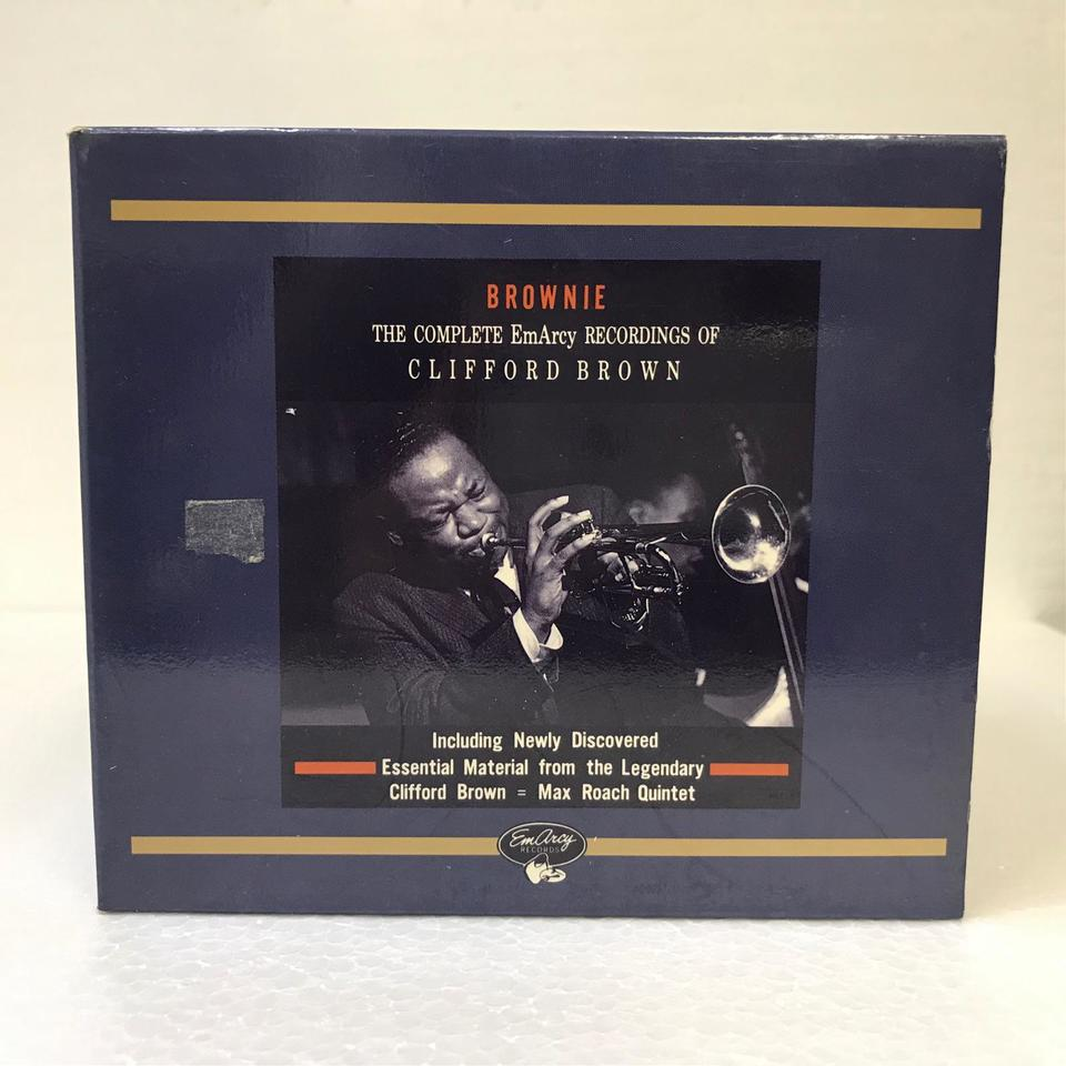 BROWNIE: THE COMPLETE EmArcy RECORDINGS OF CLIFFORD BROWN CLIFFORD BROWN 画像