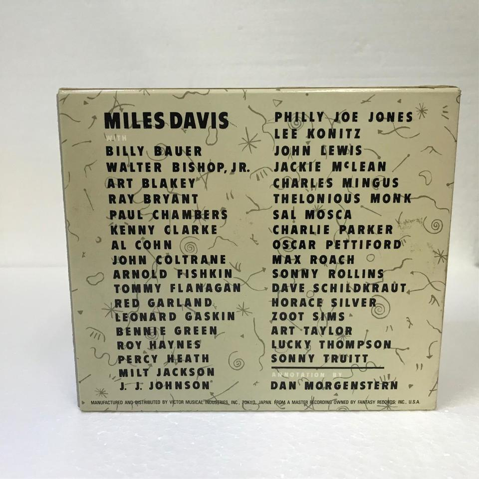 MILES DAVIS CHRONICLE THE COMPLETE PRESTIGE RECORDINGS MILES DAVIS 画像