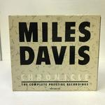 MILES DAVIS CHRONICLE THE COMPLETE PRESTIGE RECORDINGS