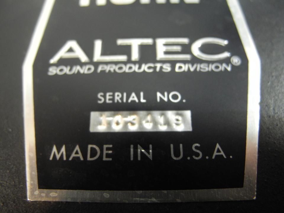 511B ALTEC 画像