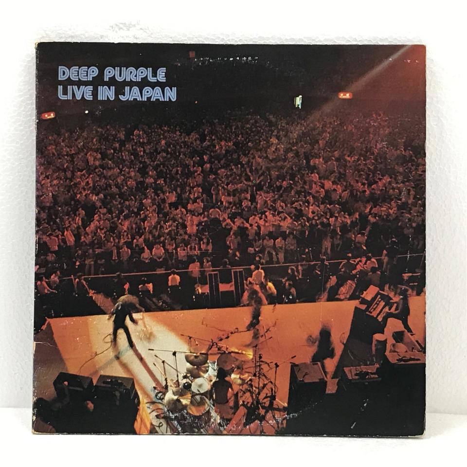 DEEP PURPLE LIVE IN JAPAN DEEP PURPLE 画像