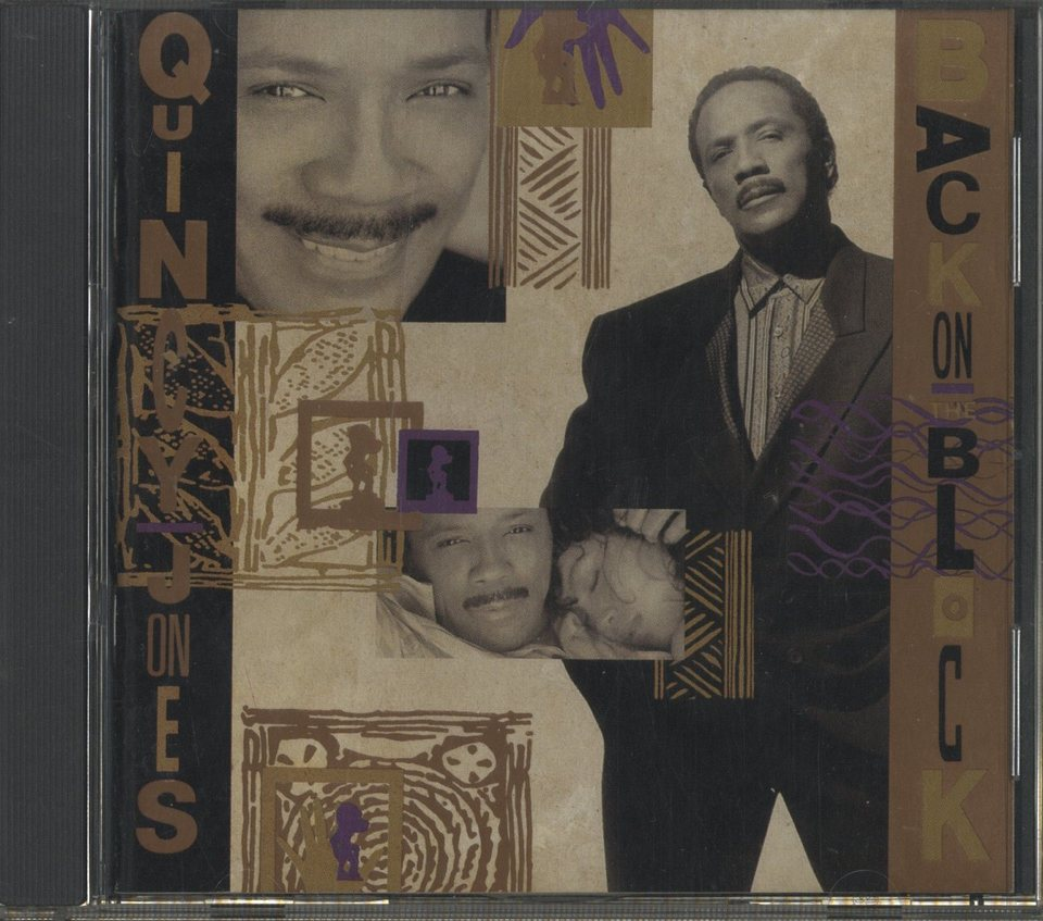 BACK ON THE BLOCK/QUINCY JONES QUINCY JONES 画像