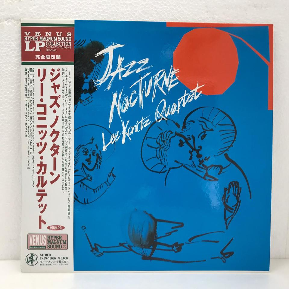 JAZZ NOCTURNE/LEE KONITZ LEE KONITZ 画像