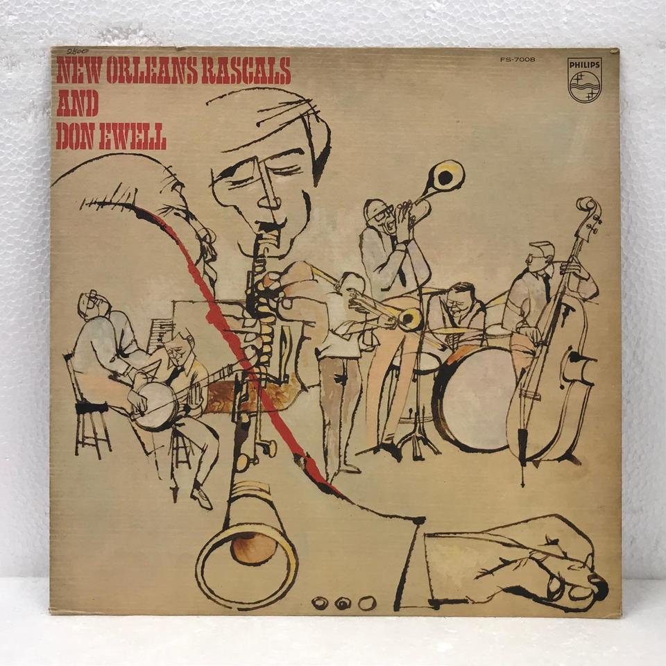 NEW ORLEANS RASCALS AND DON EWELL NEW ORLEANS RASCALS 画像