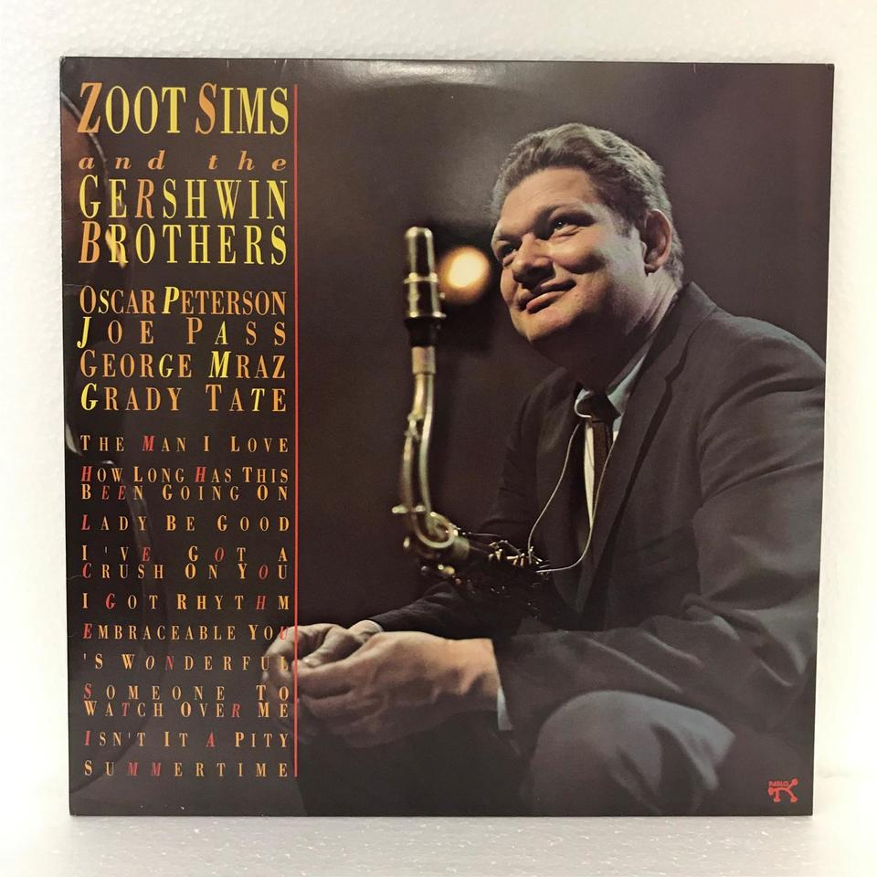ZOOT SIMS AND THE GERSHWIN BROTHERS ZOOT SIMS 画像