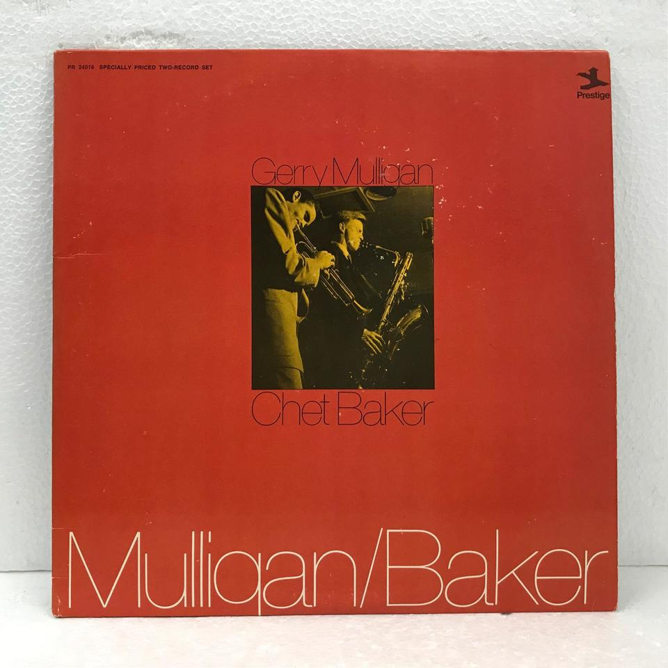 GERRY MULLIGAN AND CHET BAKER  画像